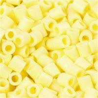 Photo Pearls, dim. 5x5 mm, diamètre intérieur 2,5 mm, jaune clair (21), 1100 pièce/ 1 Pq.