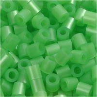 Photo Pearls, dim. 5x5 mm, diamètre intérieur 2,5 mm, vert nacre (22), 1100 pièce/ 1 Pq.