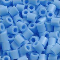 Photo Pearls, dim. 5x5 mm, diamètre intérieur 2,5 mm, bleu pastel (23), 6000 pièce/ 1 Pq.