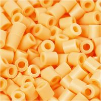Photo Pearls, dim. 5x5 mm, diamètre intérieur 2,5 mm, orange clair (26), 1100 pièce/ 1 Pq.