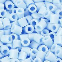 Photo Pearls, dim. 5x5 mm, diamètre intérieur 2,5 mm, bleu clair (28), 6000 pièce/ 1 Pq.