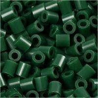 Photo Pearls, dim. 5x5 mm, diamètre intérieur 2,5 mm, vert foncé (9), 1100 pièce/ 1 Pq.