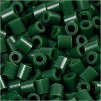 Photo Pearls, dim. 5x5 mm, diamètre intérieur 2,5 mm, vert foncé (9), 6000 pièce/ 1 Pq.