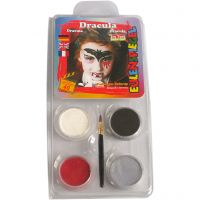 Eugelspiegel Maquillage visage,  dracula, couleurs assorties, 1 set