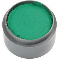 Maquillage visage à base d'eau, vert, 15 ml/ 1 boîte