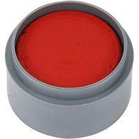 Maquillage visage à base d'eau, rouge vif, 15 ml/ 1 boîte