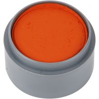 Maquillage visage à base d'eau, orange, 15 ml/ 1 boîte