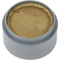 Maquillage visage à base d'eau, or, 15 ml/ 1 boîte