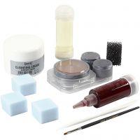 Kit maquillage blessures, 1 set