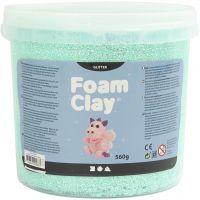 Foam Clay®, paillettes, vert clair, 560 gr/ 1 seau