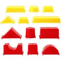 Moules, Géométrique, dim. 3,5-9,5 cm, 12 pièce/ 1 Pq.