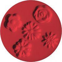 Moule FIMO®, fleurs, d: 7 cm, 1 pièce