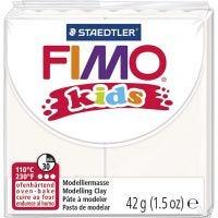 Pâte FIMO® pour enfant, blanc, 42 gr/ 1 Pq.