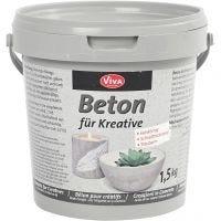 Effet béton, gris, 1500 gr/ 1 Pq.