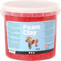 Foam Clay®, rouge, 560 gr/ 1 seau
