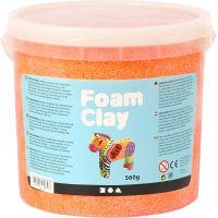 Foam Clay®, orange néon, 560 gr/ 1 seau