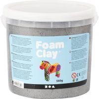 Foam Clay®, Métallisé, argent, 560 gr/ 1 seau