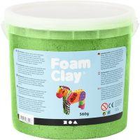 Foam Clay®, Métallisé, vert, 560 gr/ 1 seau