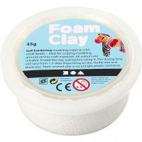 Foam Clay®, blanc, 35 gr/ 1 boîte