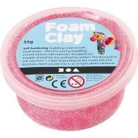 Foam Clay®, rose néon, 35 gr/ 1 boîte