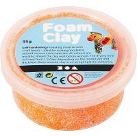Foam Clay®, orange néon, 35 gr/ 1 boîte