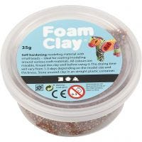 Foam Clay®, brun, 35 gr/ 1 boîte