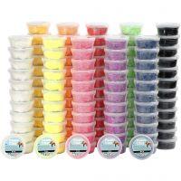 Foam Clay®, couleurs assorties, 10x12 boîte/ 1 Pq.
