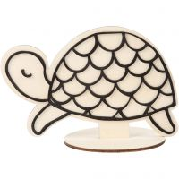 Figurine décorative, tortue, H: 10 cm, 1 pièce