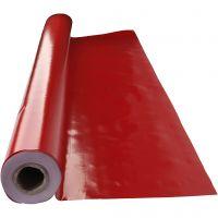 Nappe de table cirée, dim. 140 cm, rouge, 1 par m