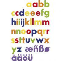 Lettres magnétiques, 48 pièce/ 1 Pq.