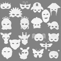 Masques , 64 pièce/ 1 Pq.