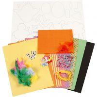 Kit de décorations, Couleurs vives, 1 set