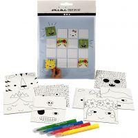 Mini kit créatif, jeu de mémoire, 1 set