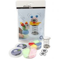 Mini kit créatif, clowns, 1 set