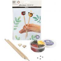 Mini kit créatif, embouts de crayons, 1 set