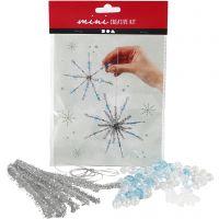 Mini kit créatif, flocons de neige, 1 set