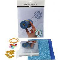 Mini kit créatif, Kaléidoscope à partir d'un rouleau de papier toilette, 1 set