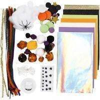 Assortiment de matériel créatif, Halloween, 1 Pq.