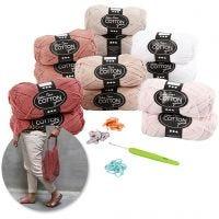 Kits - Crochet, rose, 1 set
