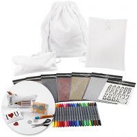 Kits - Décoration de textiles pour la rentrée scolaire, 1 set