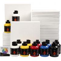 Art School Beaux-arts, couleur primaire, 1 set