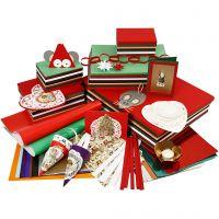 Noël traditionnel à bon prix, couleurs assorties, 1 set