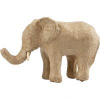 Éléphant, H: 9 cm, L: 13 cm, 1 pièce