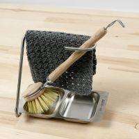 Un torchon crocheté au point risotto