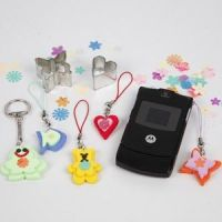 Cute figures for mobile holders