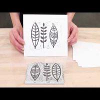 Tracez votre prope dessin sur un bloc de gravure