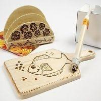 Cutting Board - Napkin Holder