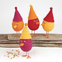 Filtede høns og fantasi-æg