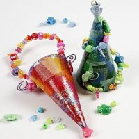 Cornets with beads