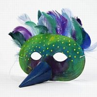 Mask for the King of the Birds